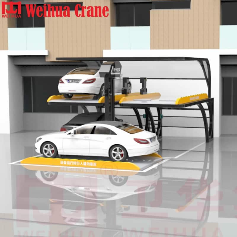 WEIHUA PJS No-avoidance Smart Car Lifter Parking Equipment