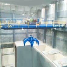WEIHUA Double Girder Overhead Crane with Grab