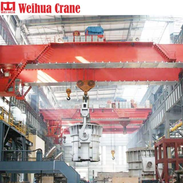 WEIHUA Overhead Crane for Forging 250t