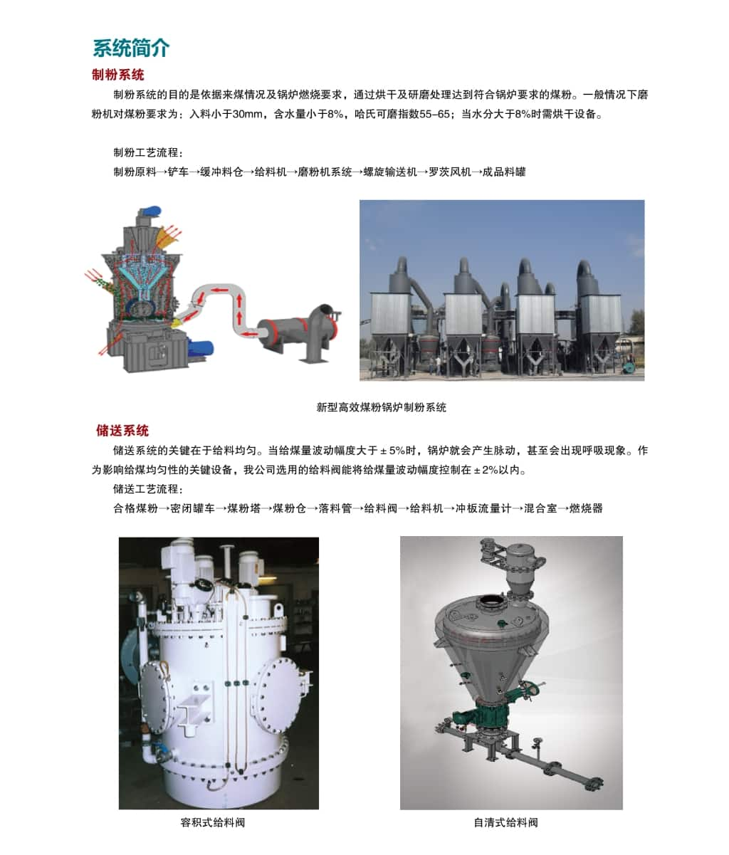 High efficiency pulverized coal furnace