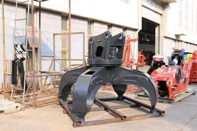 Juxiang hydraulic Orange Grapple for sale