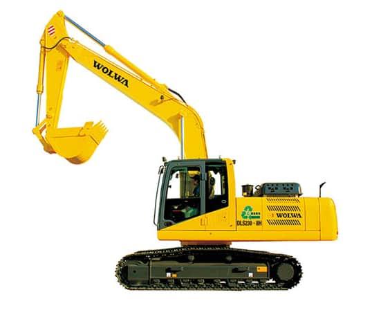 wolwa DLS450-8 hydraulic excavotor 45ton large type excavator