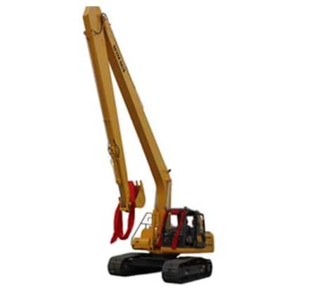 DLS220-8 Long arm hydraulic excavator 22ton medium excavator