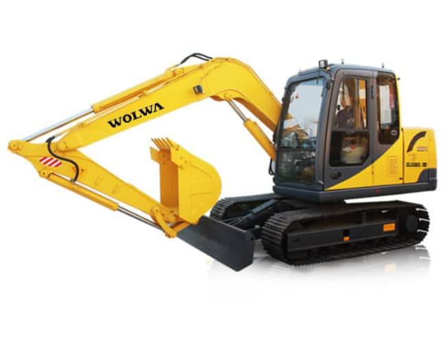DLS880-8B hydraulic excavator 8ton medium excavator
