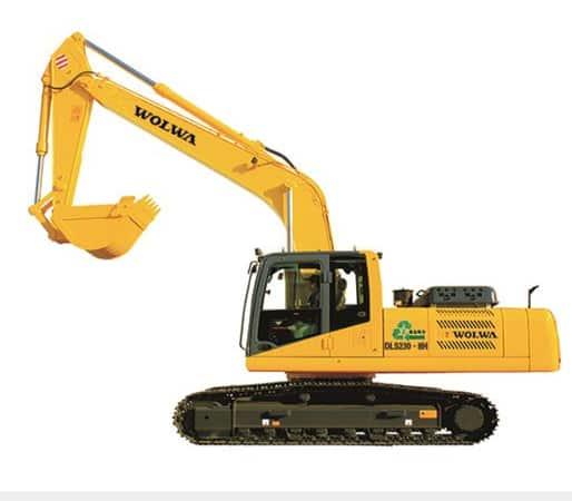 DLS230-8H hydraulic excavator 23ton medium excavator