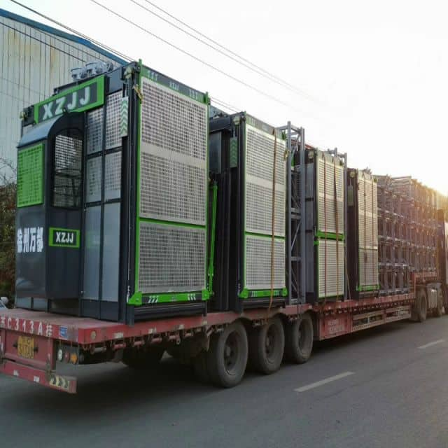 XCMG-XZJJ Construction Elevator SCD270/270  FREQUENCY