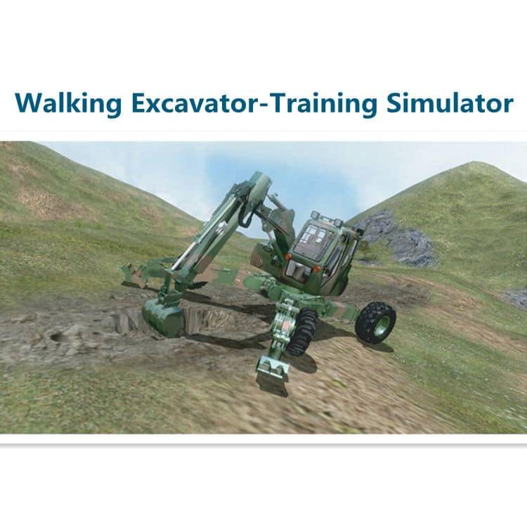 Wheeled Excavator Training&Examination Simulator