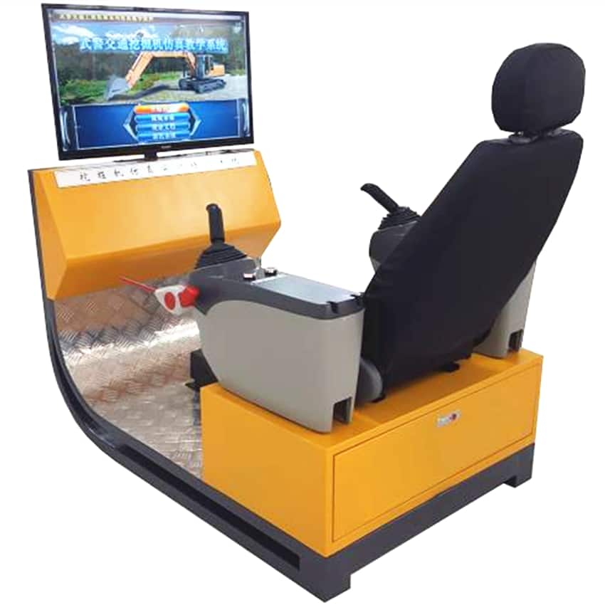 Crawler Excavator Training&Examination Simulator