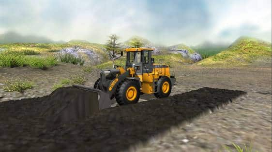 Wheel Loader and Forklift Truck Training&Examination Simulator