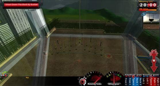 Tower Crane Training&Examination Simulator