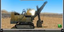 Electric Shovel Training&Examination Simulator
