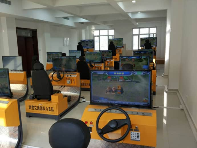 Multiple vehicles work together Training&Examination Simulator