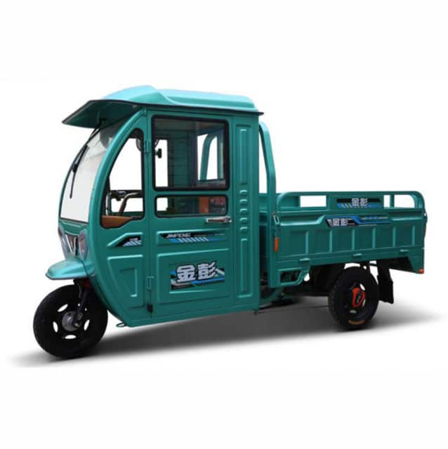 New brand electric tricycle covered for cargo