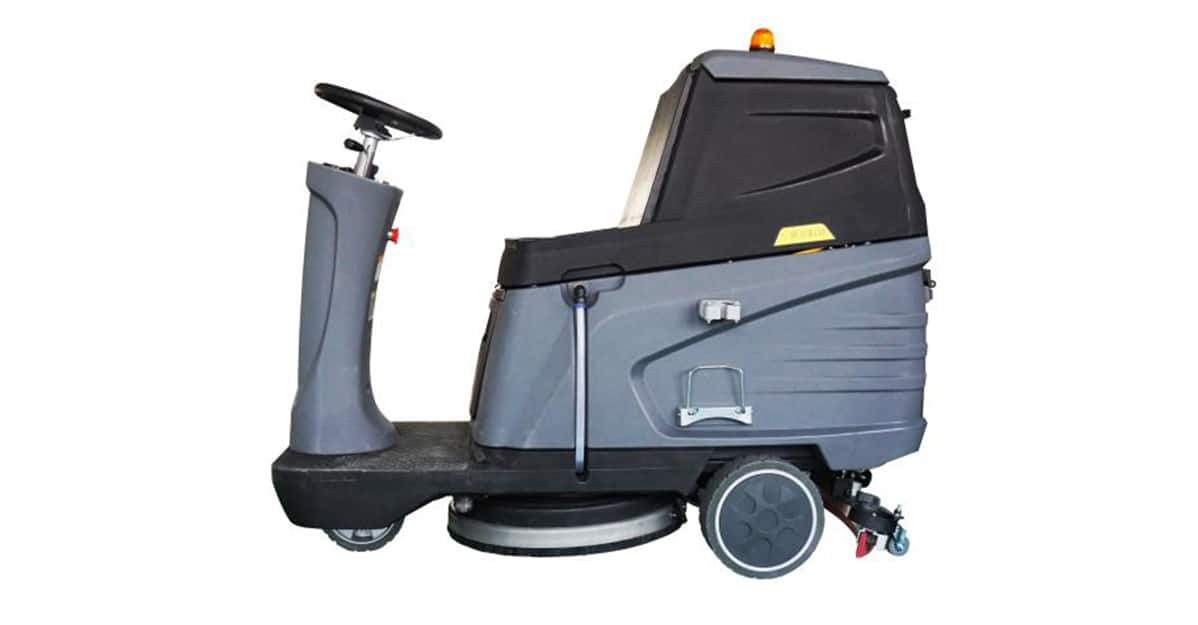 New design electric cleaning vehicle