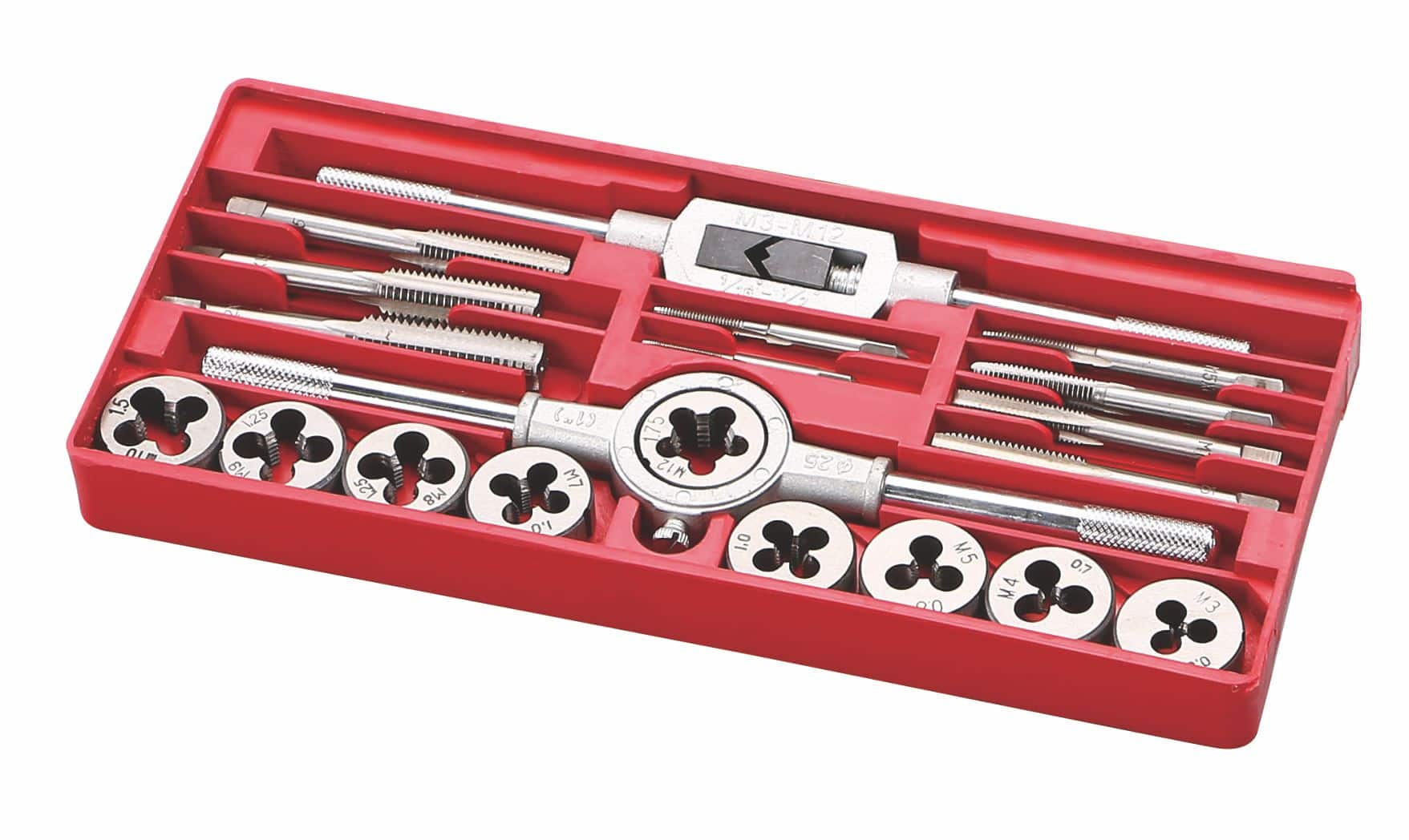 Antuo Industrial toolking Other Hand Tools 12 pieces tap and die assortment  Professional gun
