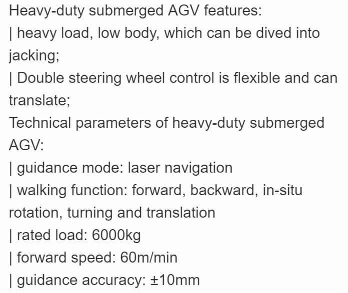 Qingdao Huashine  Stacked AGV