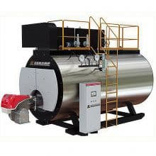 WNSL series fully automatic gas (oil) steam condensing boiler