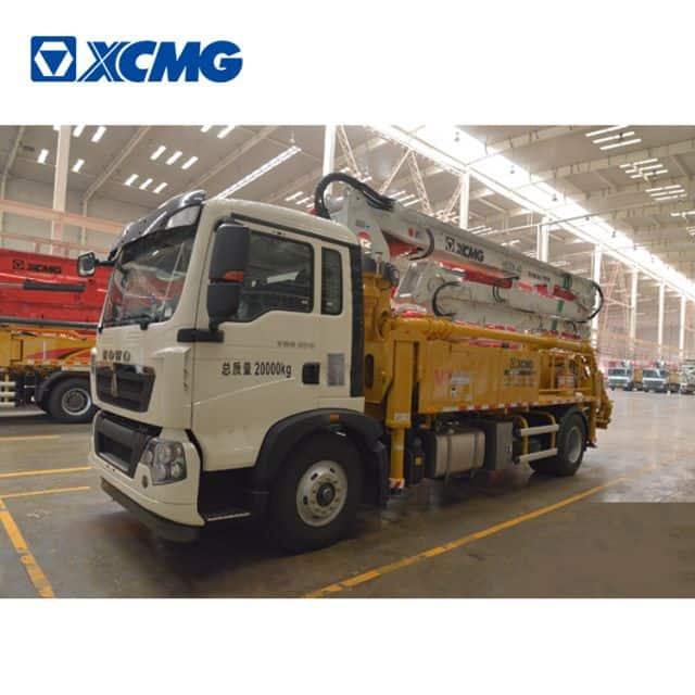 XCMG Schwing concrete pump truck HB30K China 30m small truck concrete pump with HOWO chassis price