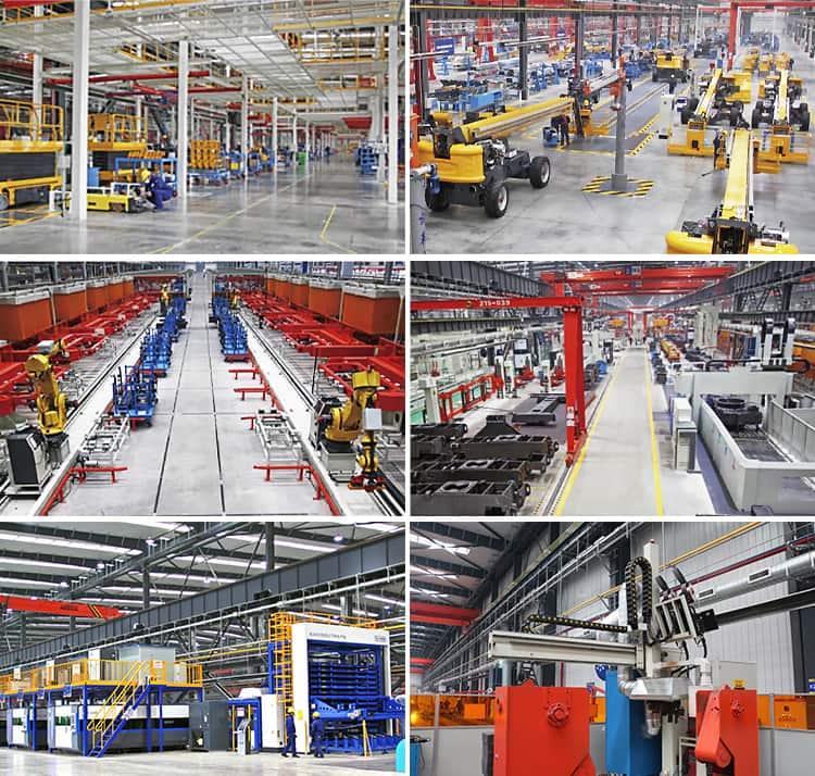 XCMG 10m hydraulic scissor lifting equipment XG1008HD lifting table
