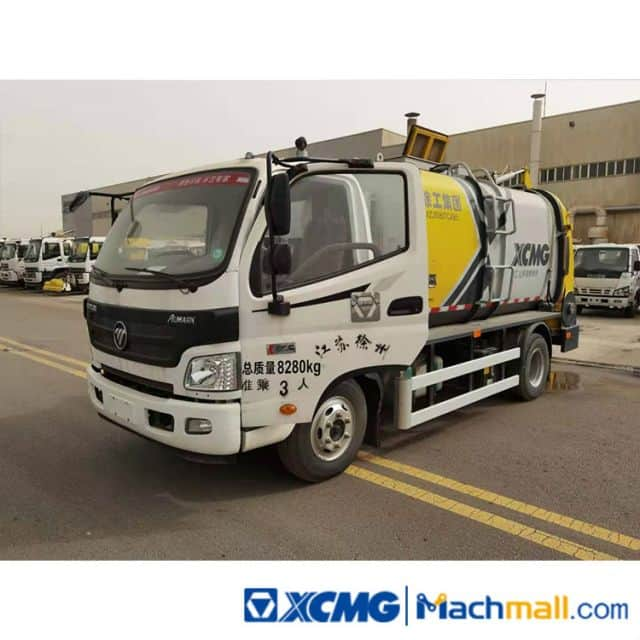 XCMG 6m³ Used Kitchen Waste Garbage Truck For Sale