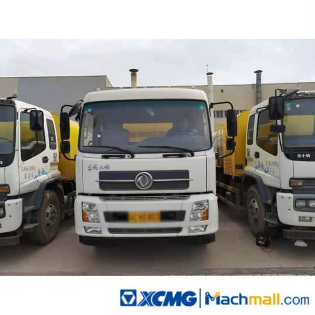 XCMG Used 8ton 4500L Sprinkler Sweeping Truck XZJ5180TSLD5 Road Sweeper Truck Machine For Sale