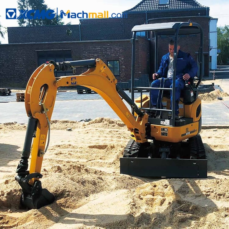 XCMG official 1.5 ton mini household excavator XE15E for sale