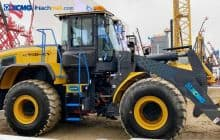 XC958-E electric loader for sale   XCMG 5 ton electric wheel loader price