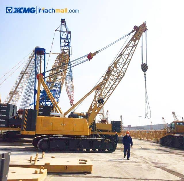 XCMG 55 ton lifting construction machinery crawler crane XGC55 price