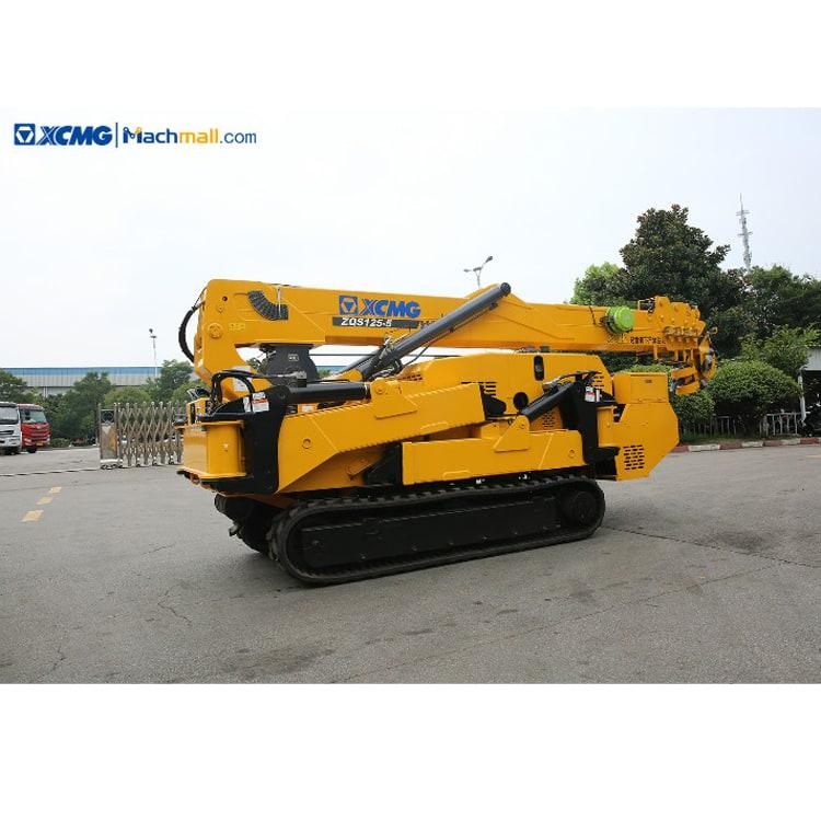 XCMG portable foldable 5 ton mini crane ZQS125-5 price