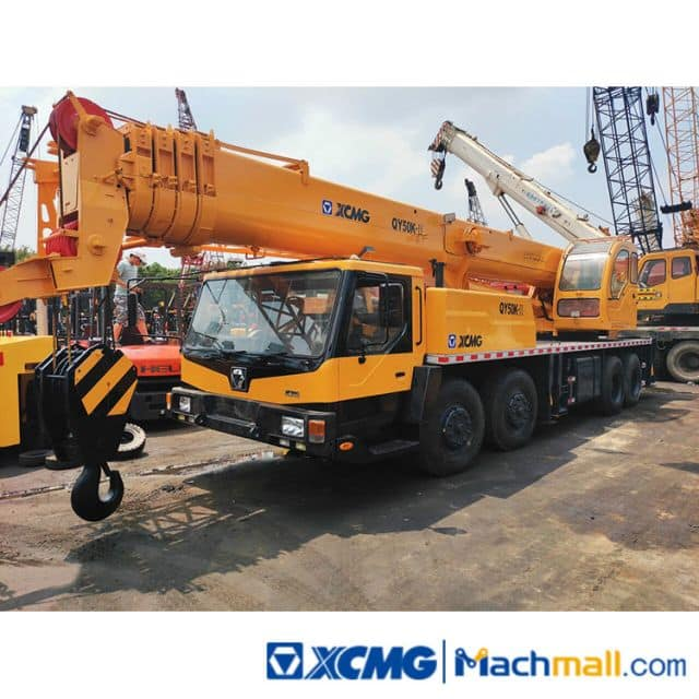 XCMG 50 Ton Used Truck Crane QY50K For Sale