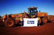XCMG GR3003 strong 300HP largest motor graders machine