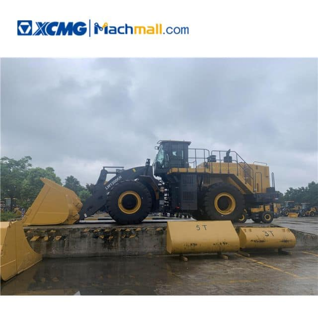 XCMG official 12 ton heavy wheel loader LW1200KN for sale