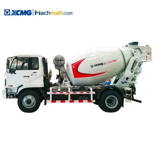 XCMG Manufacturer G04K China Concrete Truck Mixer 4m³ mini mixer price