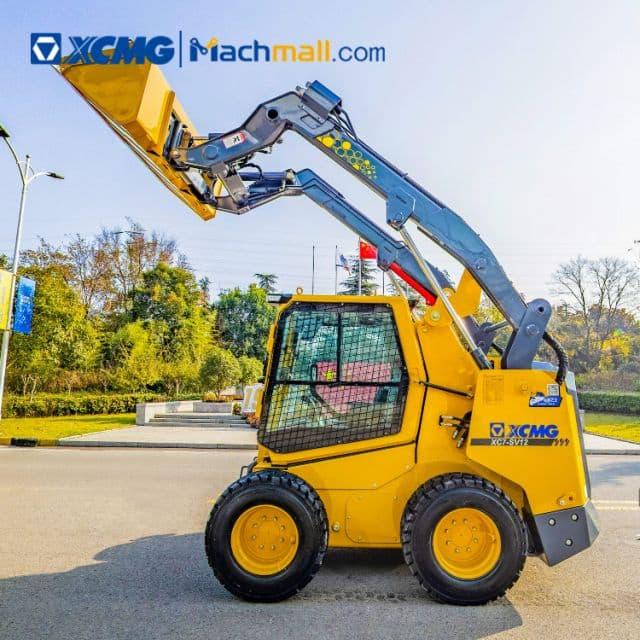 XCMG skid steer loader Chinese 1 ton mini XC7-SV12 price