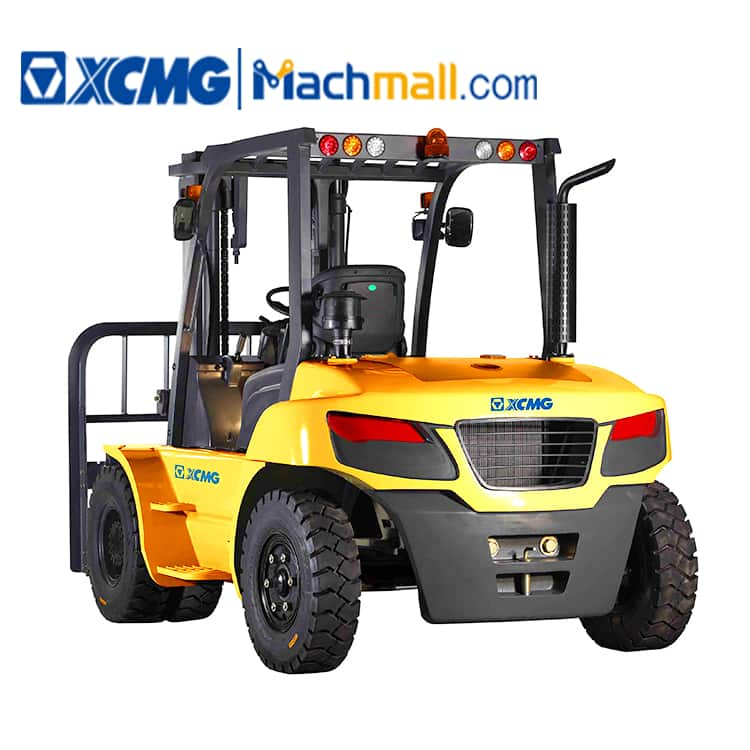 XCMG China 10 ton diesel forklift FD100T price