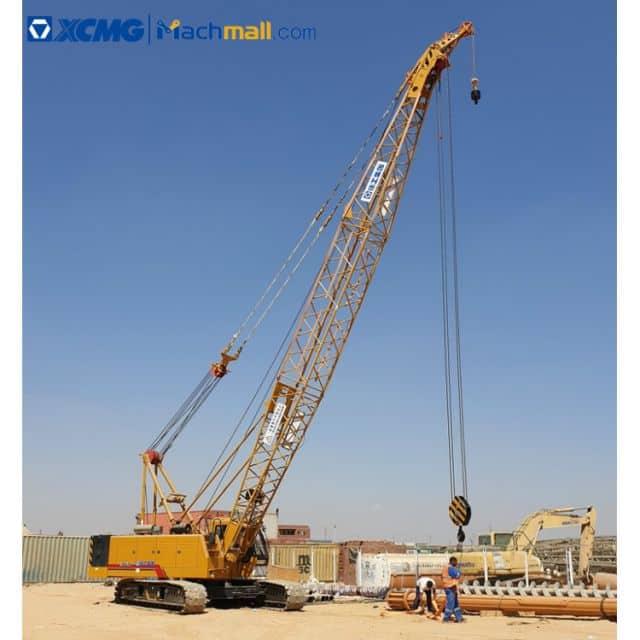 XCMG crawler mobile cranes 50 ton machine for construction price