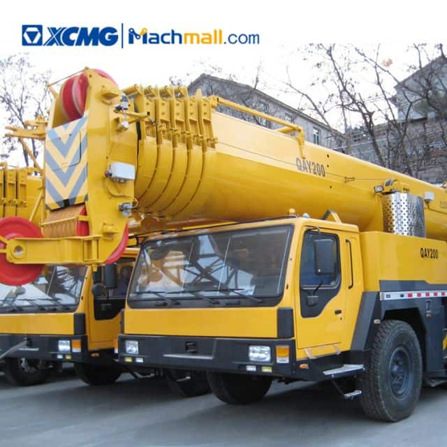200 ton QAY200 XCMG all terrain crane for sale