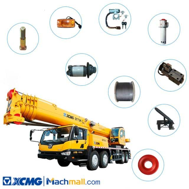 Consumable Spare Parts List of XCMG QY70K-I Truck crane