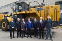 XCMG official DL560 560HP mining wheel bulldozer price