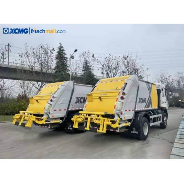 XCMG 3 Ton small compressed garbage truck XZJ5070ZYSQ5 for sale