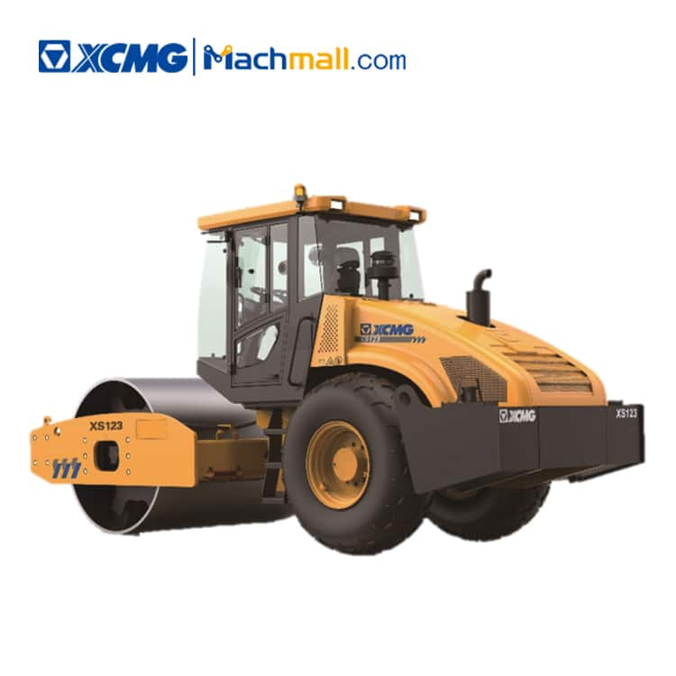 XCMG factory 12 ton vibratory roller compactor XS123 price