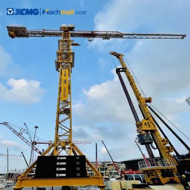 XCMG 6 tons mini tower cranes machine XGA6010-6 for sale