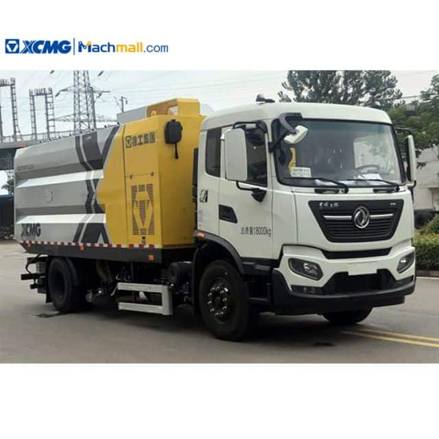 XCMG manufacturer 8 cbm dry road sweeper cleaning truck for sale