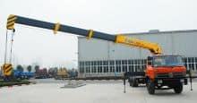 XCMG Lorry Crane SQ8SK3Q 8 Ton Straight Telescoping Boom Crane Truck with Good Price