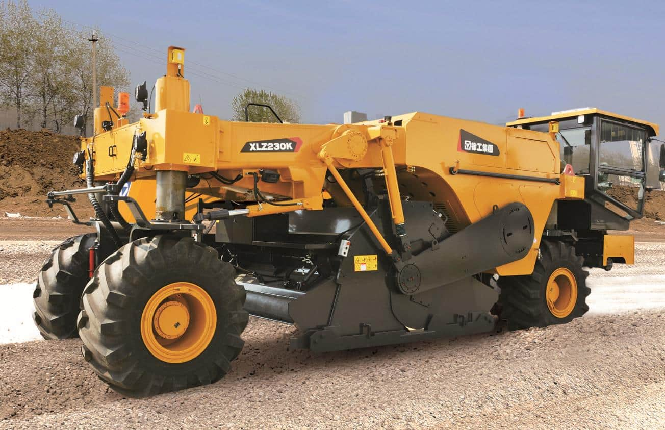 XCMG official XLZ230K asphalt cold recycling machine for road constrution