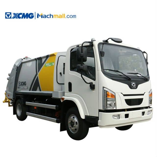 XCMG 8 ton Electric Garbage Compactor Truck for sale