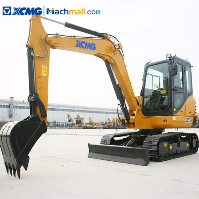 China 5 ton excavator XCMG XE55DA PLUS small hydraulic excavator for sale