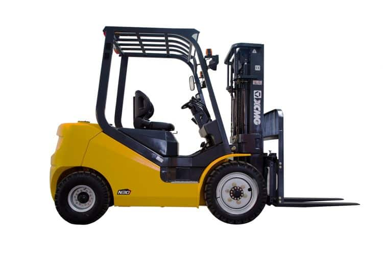 XCMG Official 2.5T LPG Cushion Tire Forklift for sale