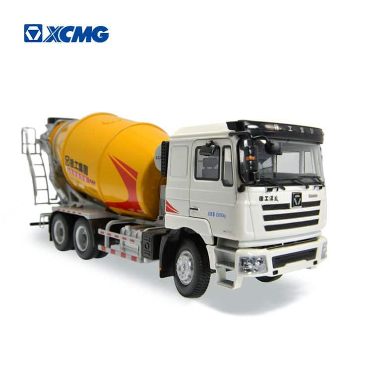 XCMG Schwing small concrete mixer truck metal model toys for sale