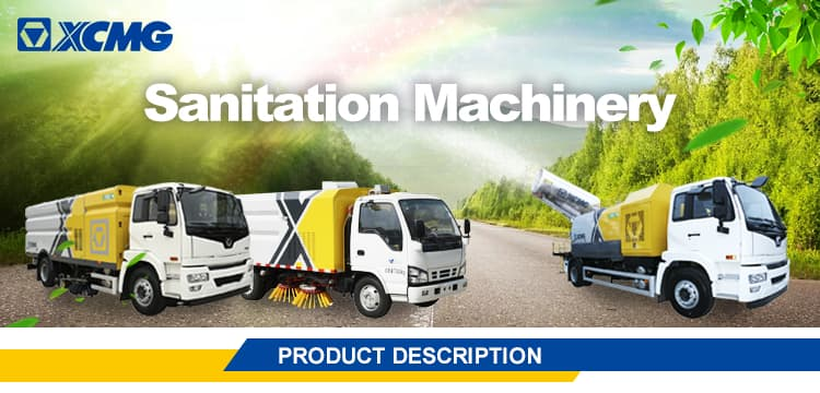 XCMG Official XZJ5161GQXD5 Cleaning Car for sale